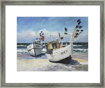 Sea Beach 9 - Baltic Framed Print