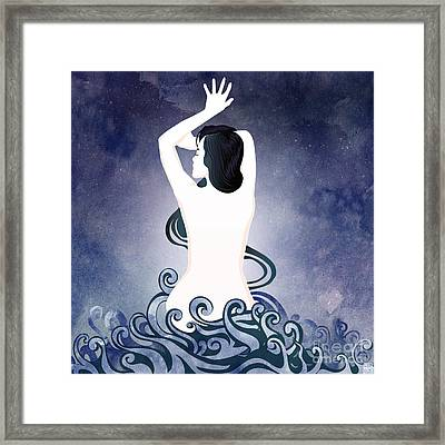 Sea Born Framed Print