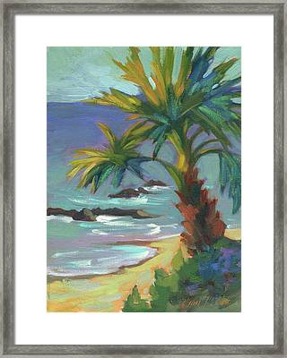 Sea Breeze Framed Print by Diane McClary