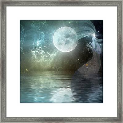 Sea Bride Suite Framed Print