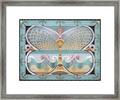 Sea Butterfly Framed Print by Sally Appleby