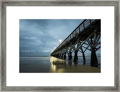 Sea Cabin Pier Framed Print by Ivo Kerssemakers