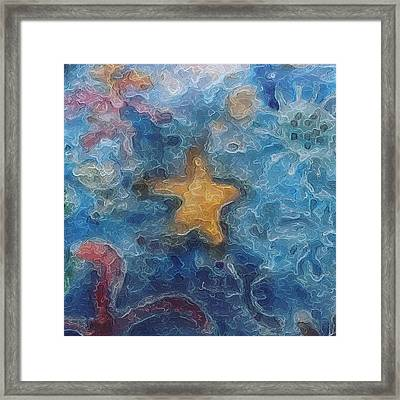 Sea Creatures 2 Framed Print