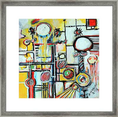 Sea Creatures Framed Print by Michael Henderson