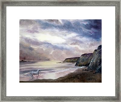 Sea Dancer Framed Print by Laura Iverson