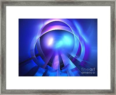 Sea Diamond Framed Print by Kim Sy Ok