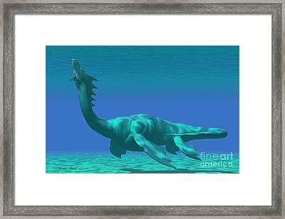 Sea Dragon Framed Print by Corey Ford