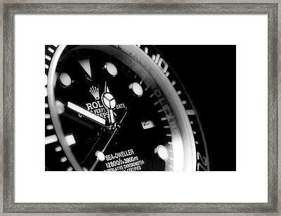 Sea Dweller Framed Print
