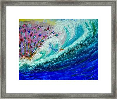 Sea Fantasy Framed Print by Kathern Welsh