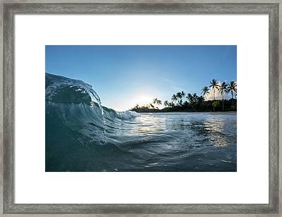 Sea Faucet Framed Print