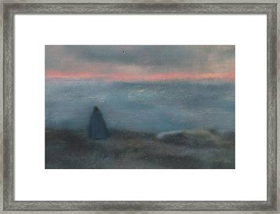 Sea Fever Framed Print by Weiyu Xia