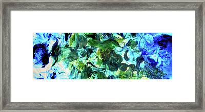 Sea Flourish Framed Print