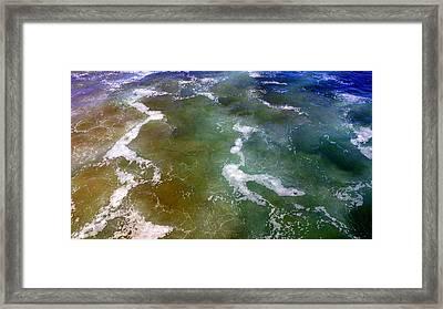 Sea Foam 2 Framed Print