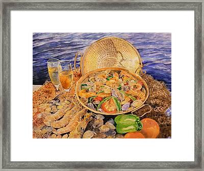 Sea-food Framed Print by Ciocan Tudor-cosmin