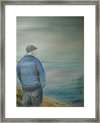Sea Gaze Framed Print