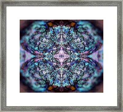 Sea Gem Framed Print