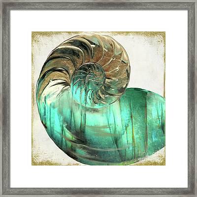 Sea Gem Framed Print