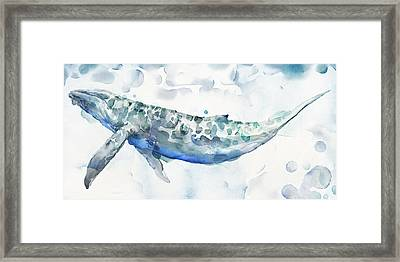 Sea Giant Framed Print