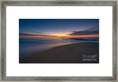 Sea Girt Sunrise New Jersey  Framed Print