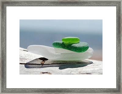 Sea Glass 4 Framed Print
