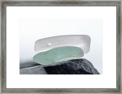 Sea Glass Eleven Framed Print