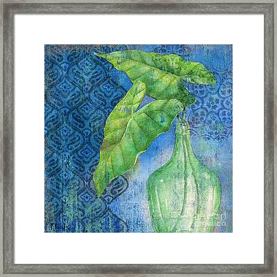 Sea Glass Palm II Framed Print