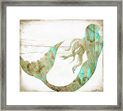 Sea Goddess Framed Print by Mindy Sommers