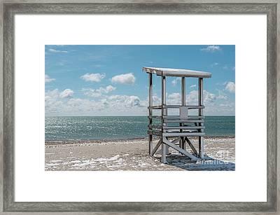 Sea Gull Beach #2 Framed Print