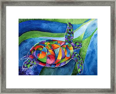 Sea Gypsy Framed Print