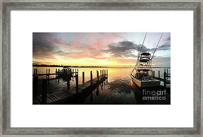 Sea Hab Framed Print