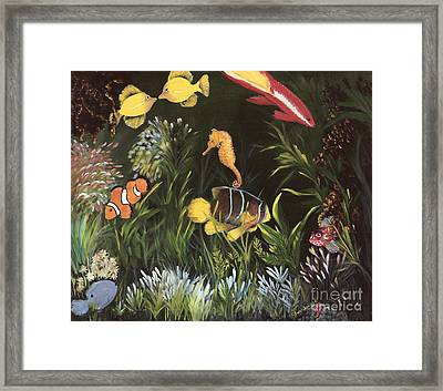 Sea Harmony Framed Print by Carol Sweetwood