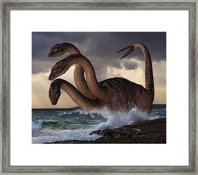 Sea Hydra Framed Print