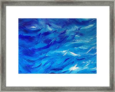 Sea I Framed Print