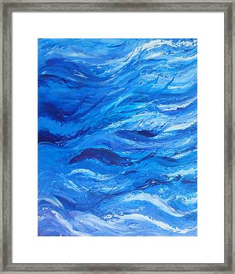Sea 2 Framed Print