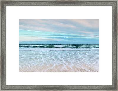 Sea Is Calling Framed Print