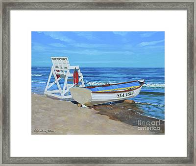 Sea Isle Beach Patrol Framed Print
