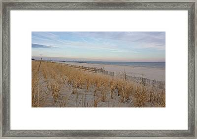Sea Isle City, N J, Beach Framed Print