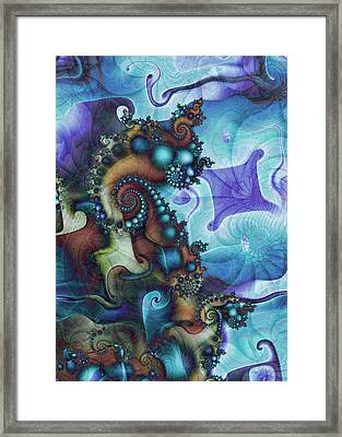 Sea Jewels Framed Print by David April