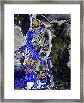 Sea King Framed Print by Molly McPherson