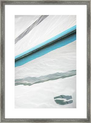 Sea Kissed Framed Print