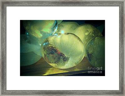 Framed Print featuring the sculpture Sea Land Sky  by Kristine Nora