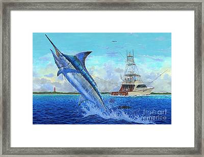 Sea Lion Framed Print by Carey Chen
