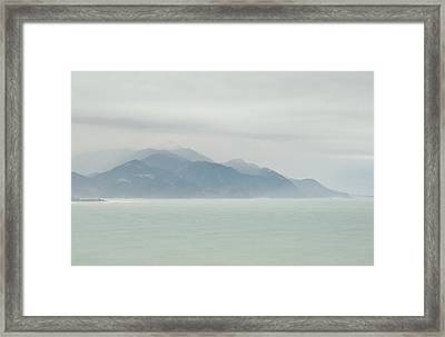 Sea Mist Framed Print by Odille Esmonde-Morgan