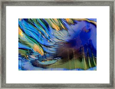 Sea Monster Framed Print