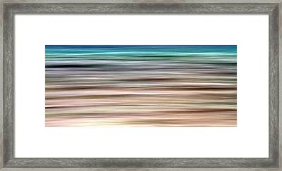 Sea Movement Framed Print