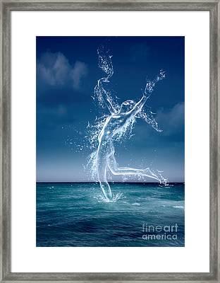 Sea Nymph Framed Print by Amanda Elwell