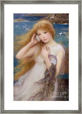 Sea Nymph Framed Print by William Robert Symonds