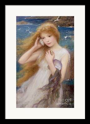 Sound Of The Sea Framed Prints