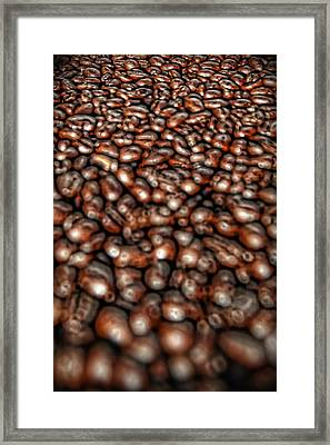 Sea Of Beans Framed Print by Gordon Dean II