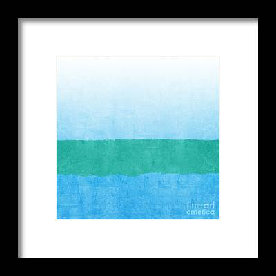 Coastal Landscape Framed Prints